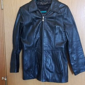 Wilson's Leather Jacket with Liner Sz M